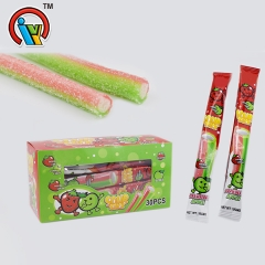 fruity gummy candy stick